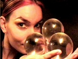 Jonglage Feu et Boule de Cristal
