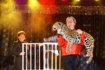 Magie avec animaux et grandes illusions