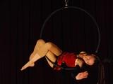 Duo acrobatique aérien