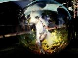Danseur et danseuses dans des bulles en soirée évènementielle (75)