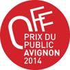 Prix du public Avignon Off 2014