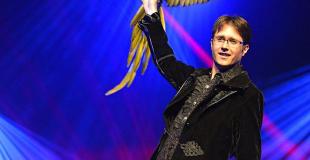 Magicien avec perroquet pour une soirée de symposium (37)